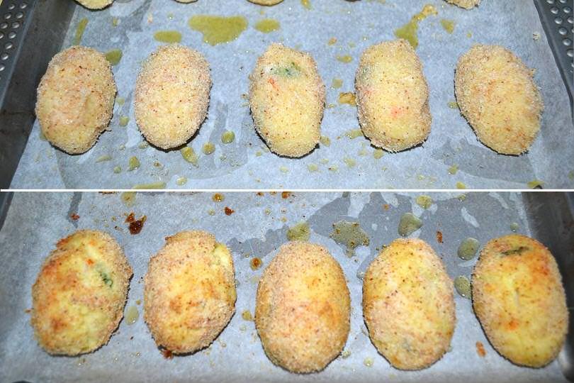 5 cuocere in forno