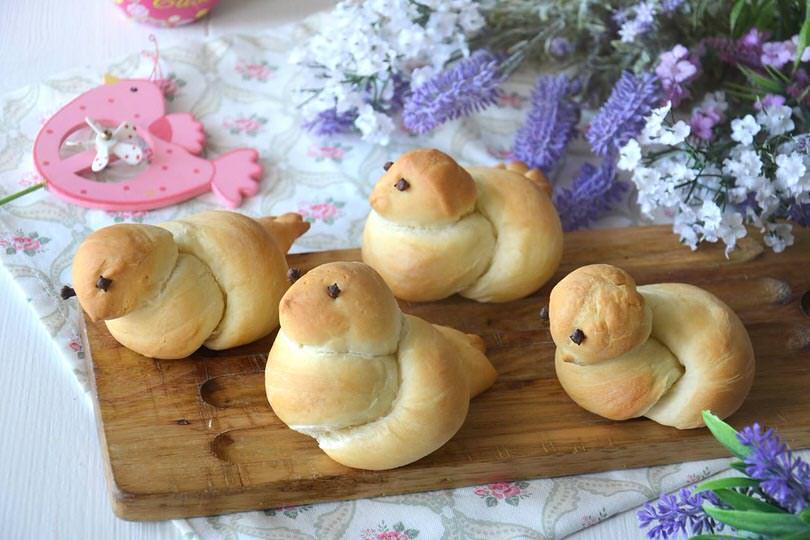 Colombe di pane