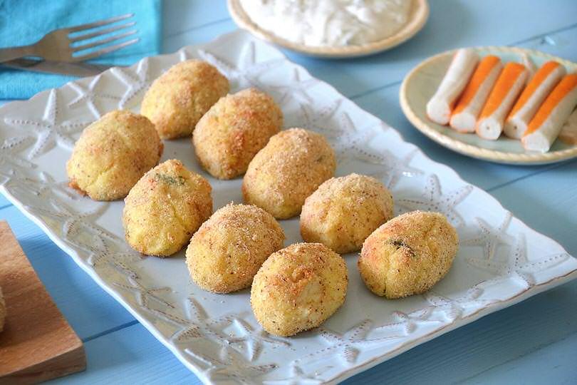 Crocchette di patate e surimi
