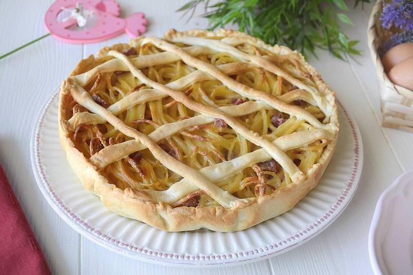 Pastiera di pasta ricetta pastiera di pasta di misya for Ricette di cucina italiana primi piatti