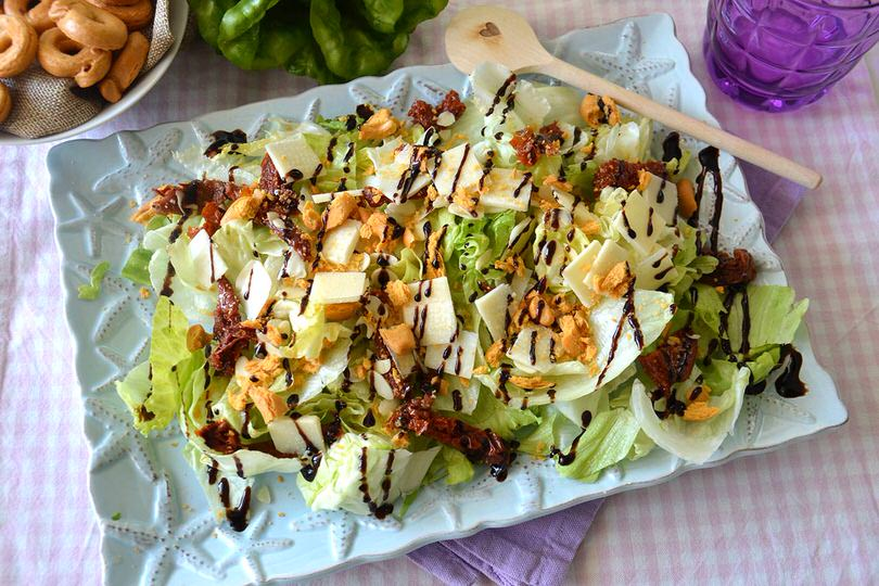 Insalata alla pugliese ricetta insalata alla pugliese for Insalate ricette