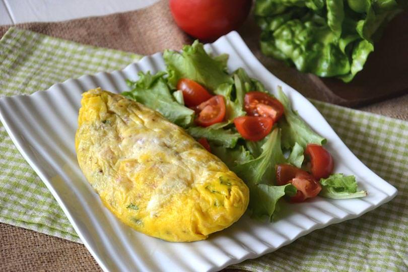 omelette in a-bag