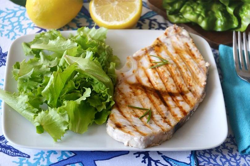 Ricette per pesce spada alla griglia