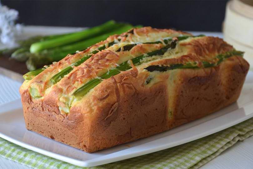 Plumcake agli asparagi