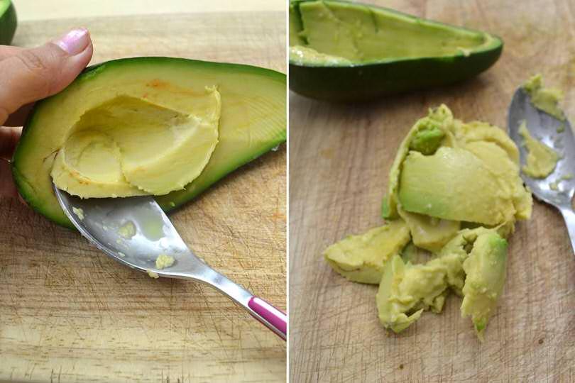 1 polpa avocado
