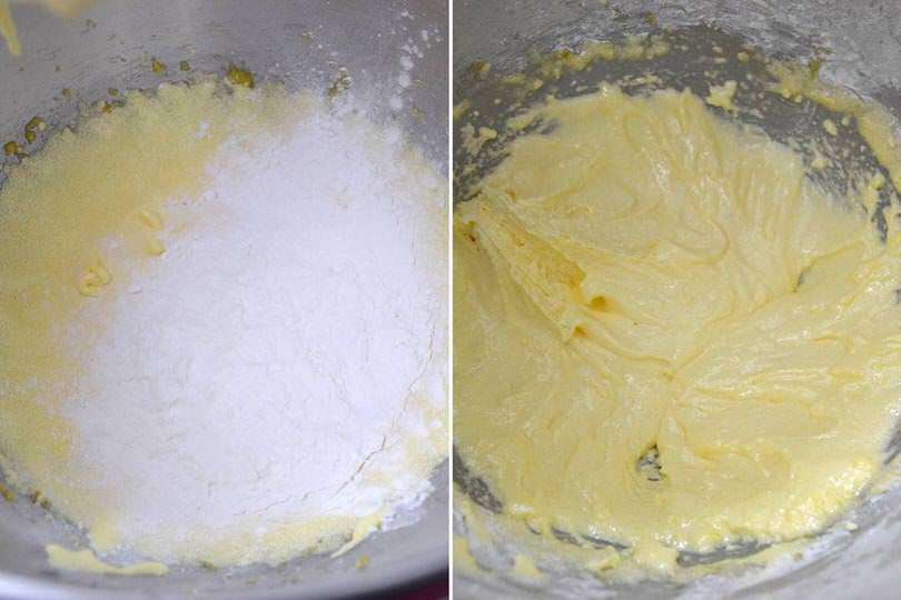 3 aggiungere farina