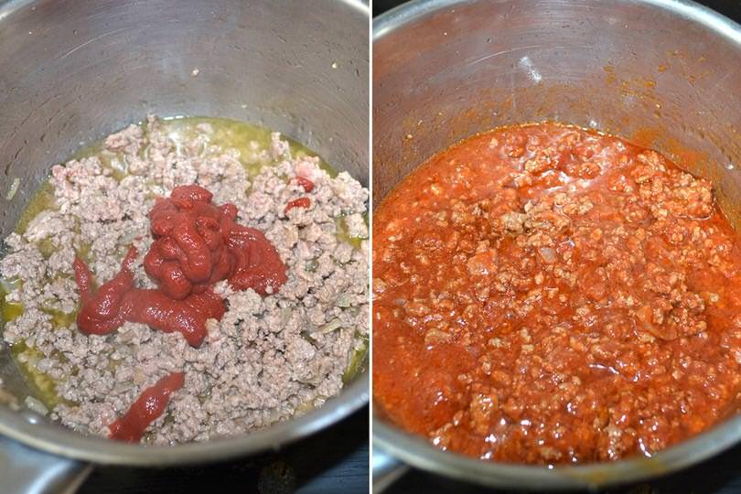 3 aggiungere pomodoro