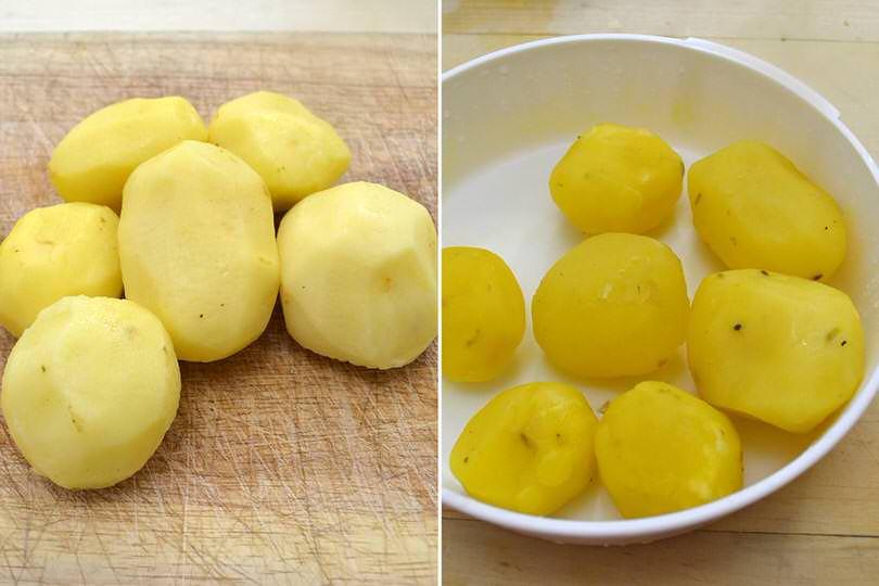 3 cuocere patate
