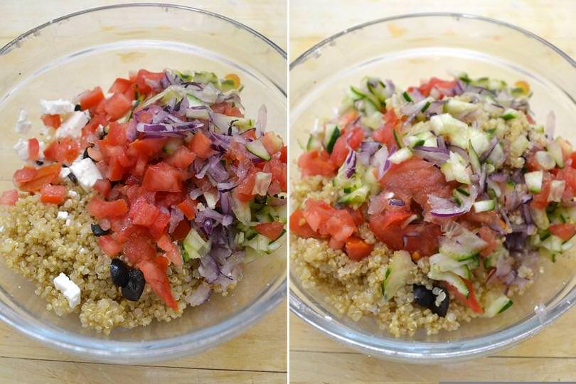 4 insalata di quinoa