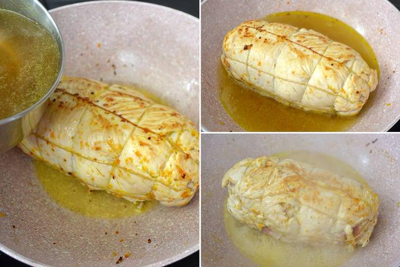 Arrotolato di pollo - Ricetta Arrotolato di pollo di Misya