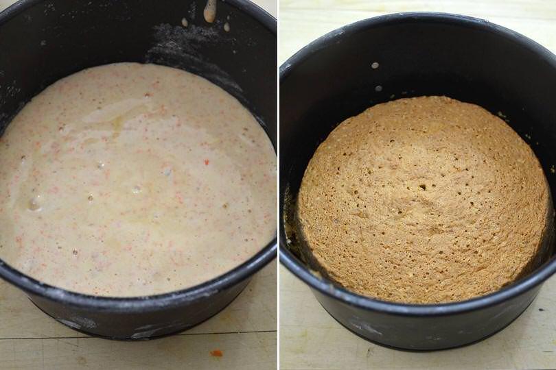6 cuocere torta