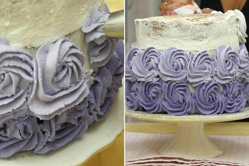8 decorare torta