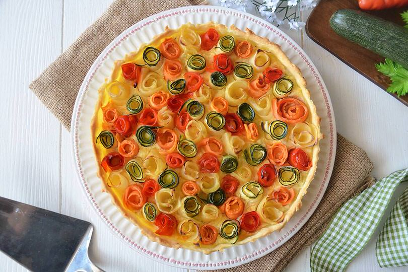 Ricette per torte salate con verdure