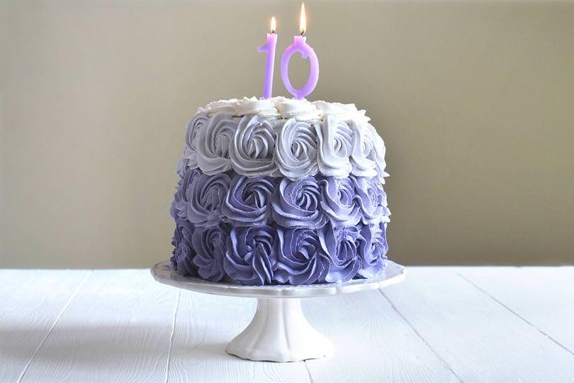 torta 10 anni