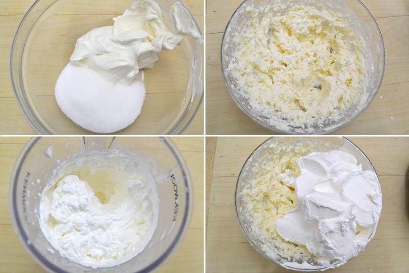 1 crema con panna