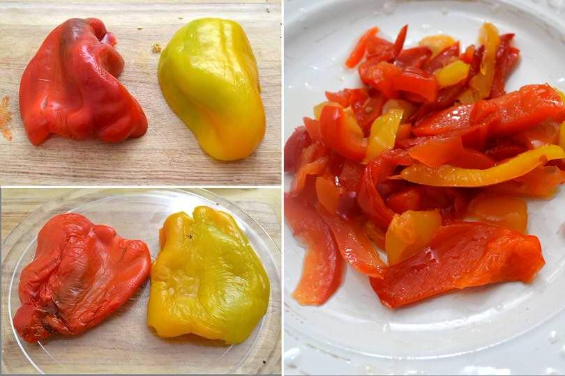 1 cuocere peperoni