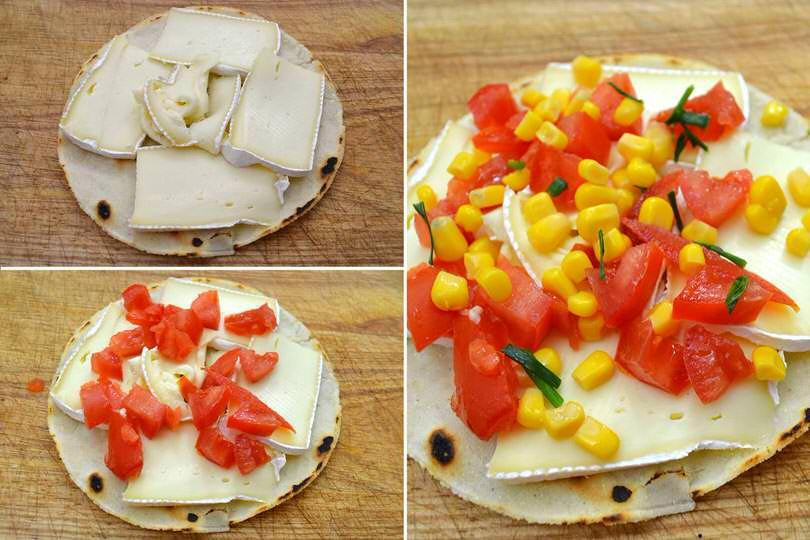 1 farcire con pomodoro e formaggio