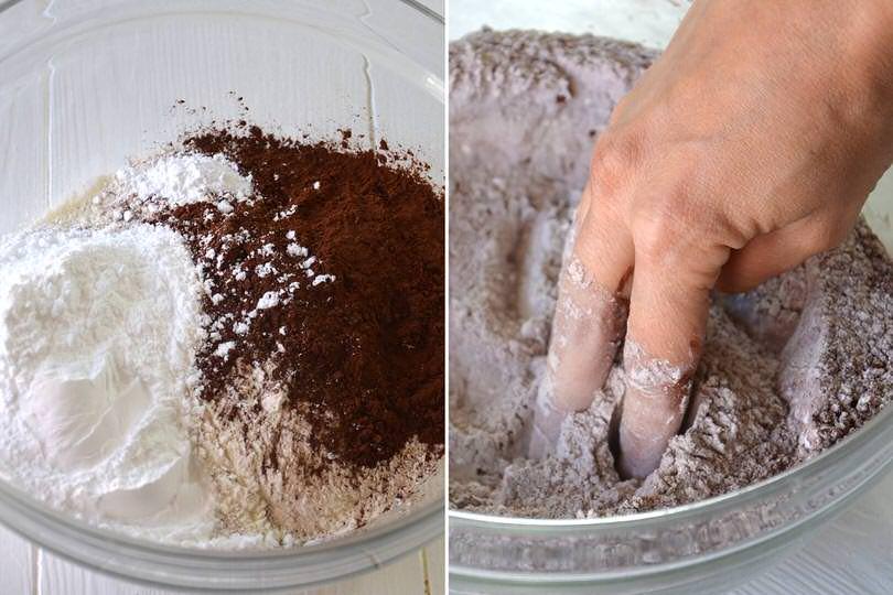1 farina e cacao