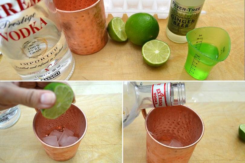 1 ghiaccio lime vodka