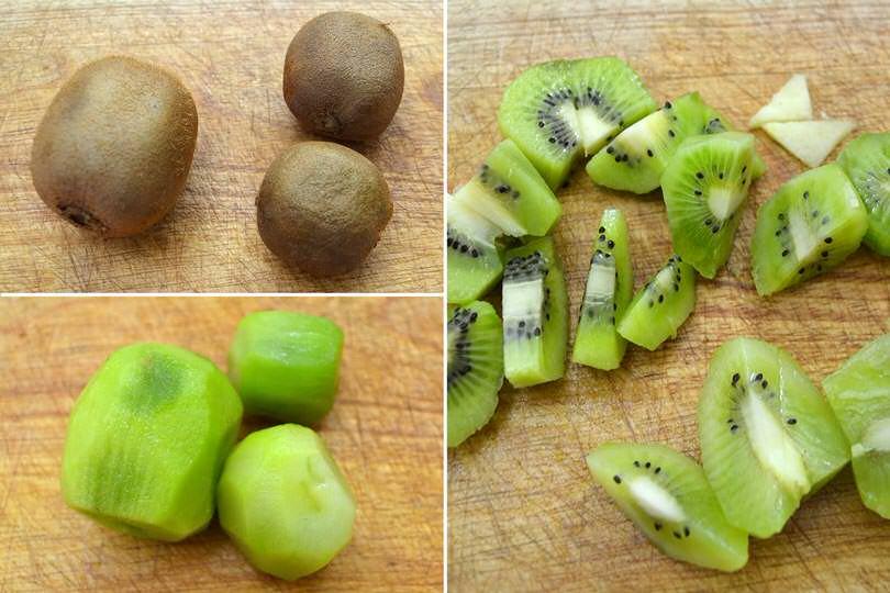 1 pulire kiwi