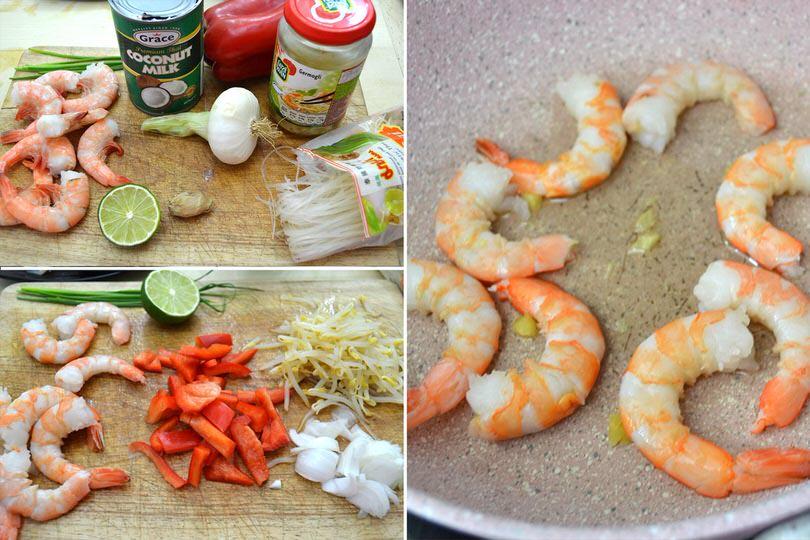 Ricetta Zuppa Thai Con Gamberi.Zuppa Di Gamberi Thailandese Ricetta Zuppa Di Gamberi Thailandese Di Misya
