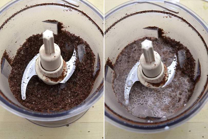 2 frullare cioccolato e ghiaccio