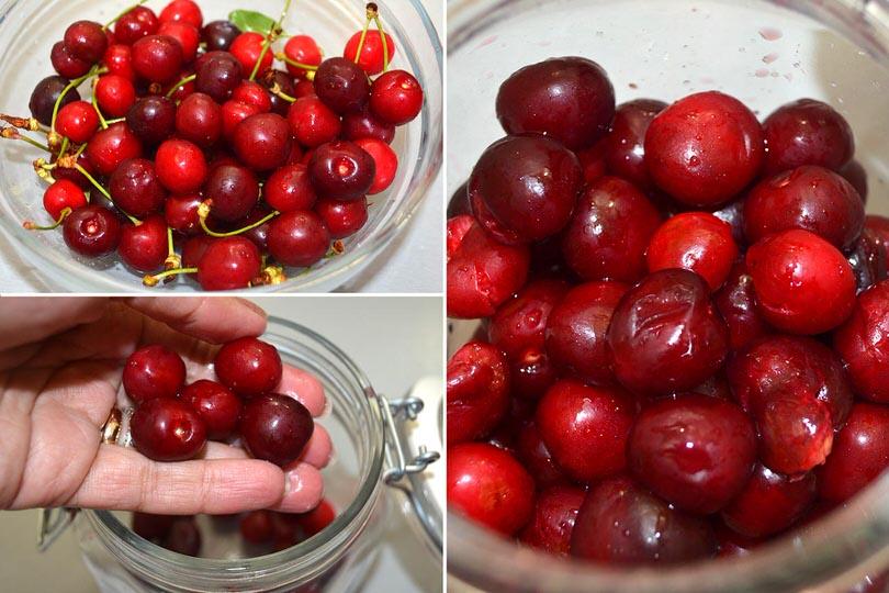2 schiacciare ciliegie