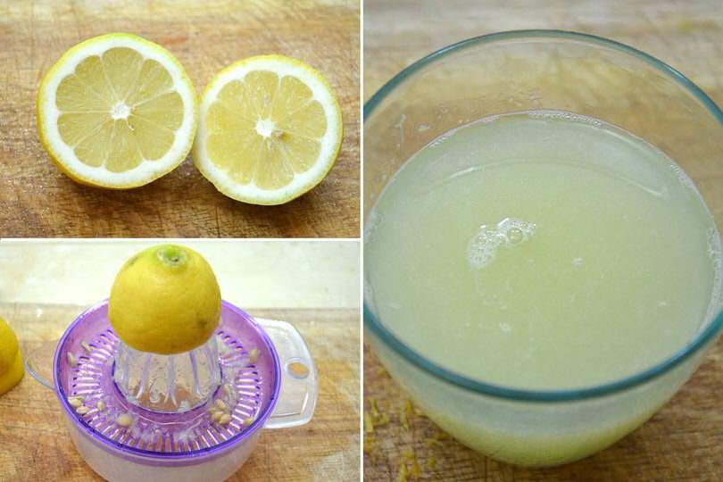 2 succo di limone