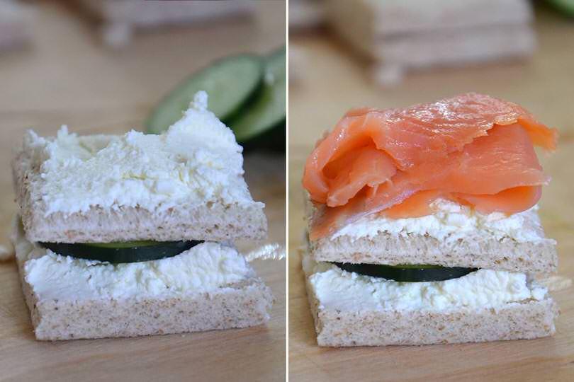 3 aggiungere salmone