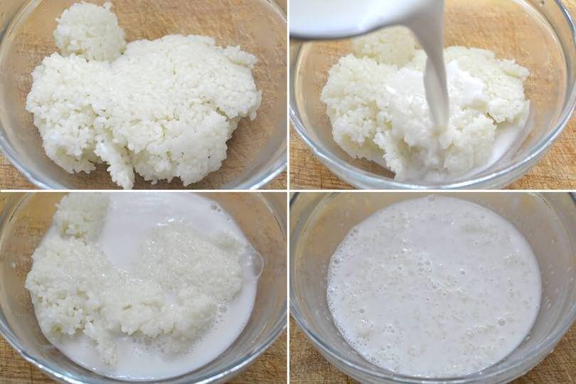 3 riso e latte cocco