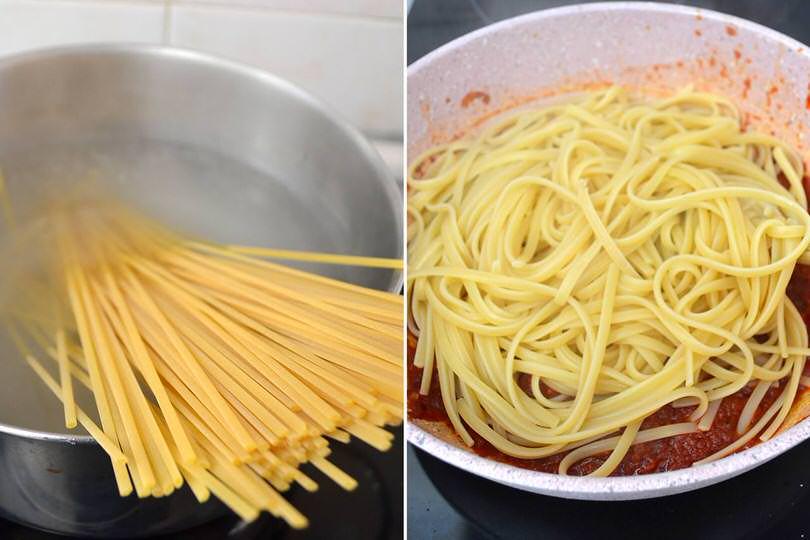 4 cuocere pasta