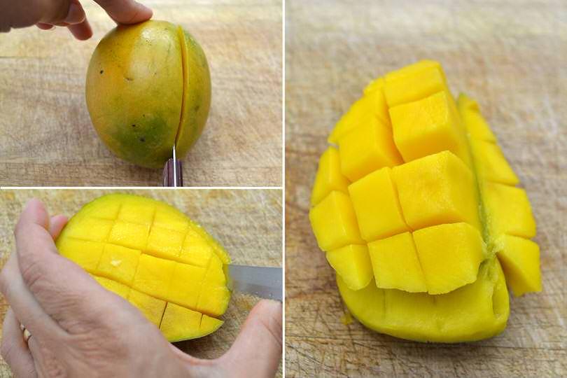 4 tagliare mango
