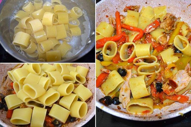 5 aggiungere pasta