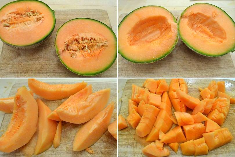 1 tagliare melone