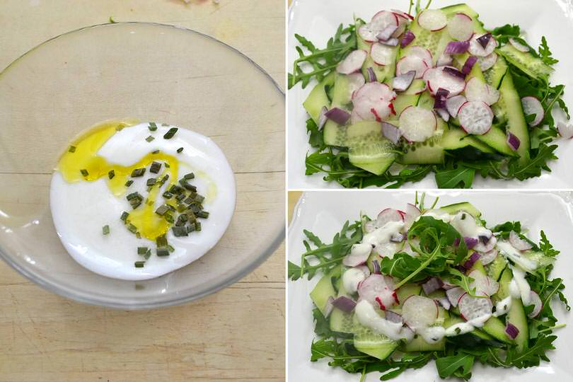 2 condire con emulsione yogurt