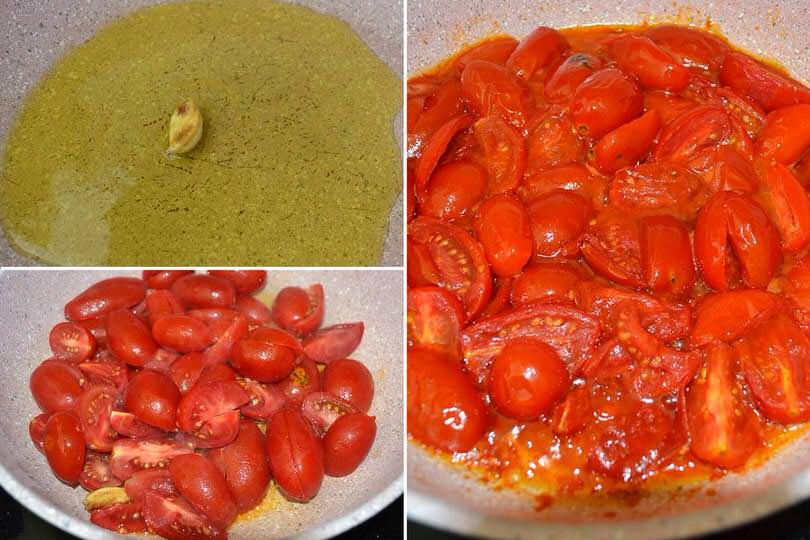 2 cuocere pomodorini
