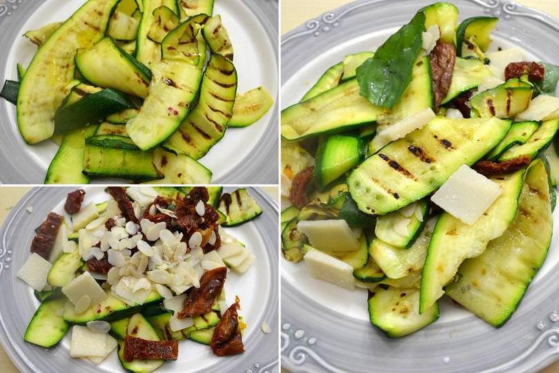 4 condire zucchine