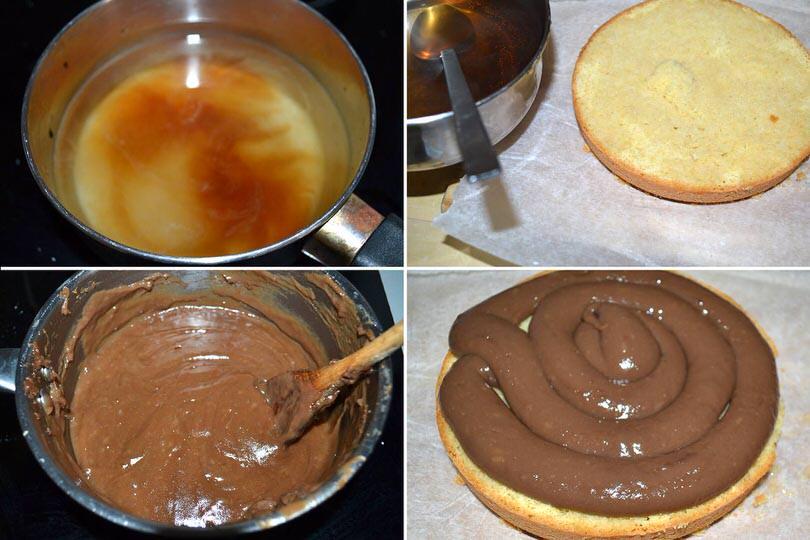 7 bagnare e farcire torta