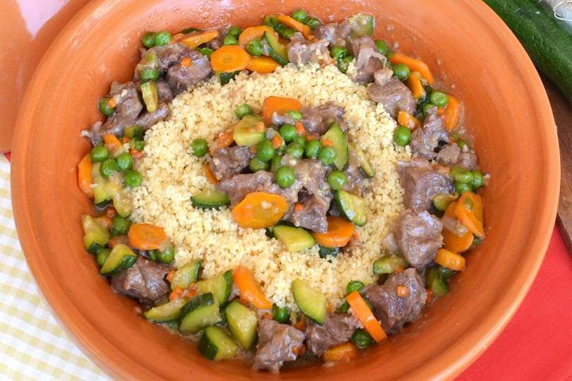 Cuscus manzo verdure
