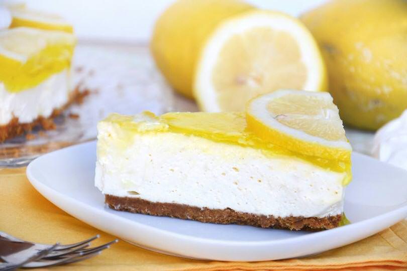 Torta fredda limone