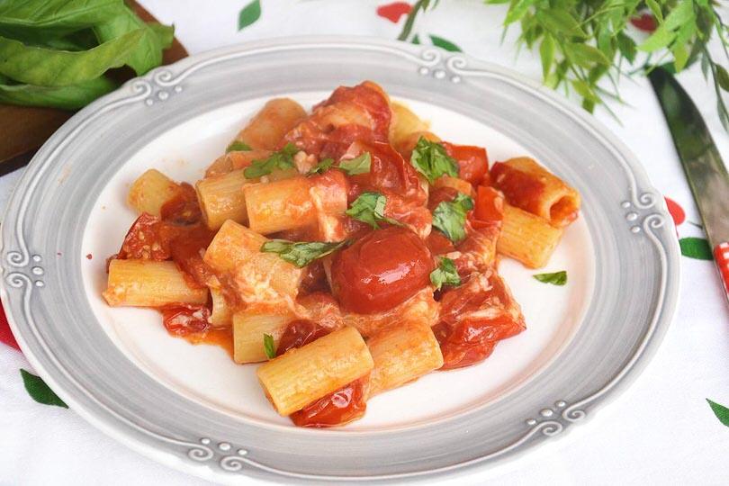Pasta allo scarpariello ricetta pasta allo for Pasta ricette veloci