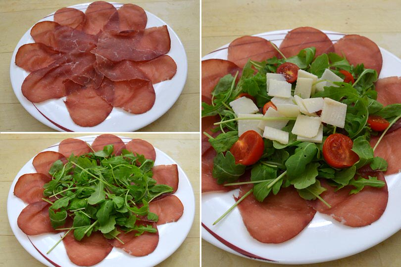 1 comporre carpaccio