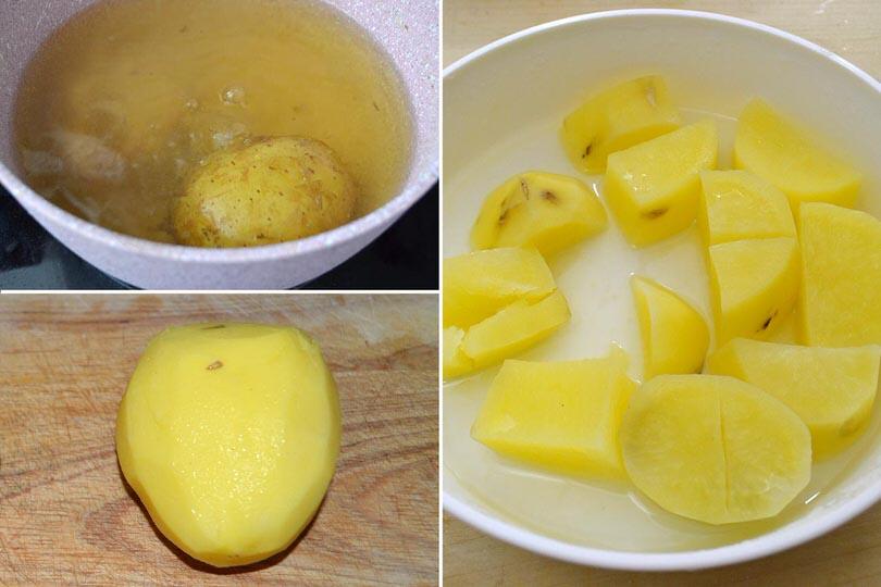 2 bollire patate