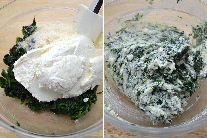 2 spinaci e ricotta