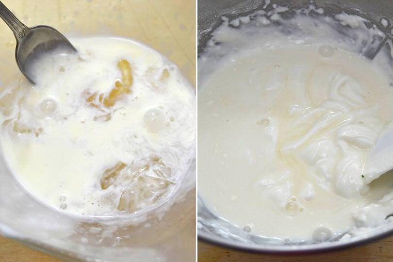 5 gelatina in fogli