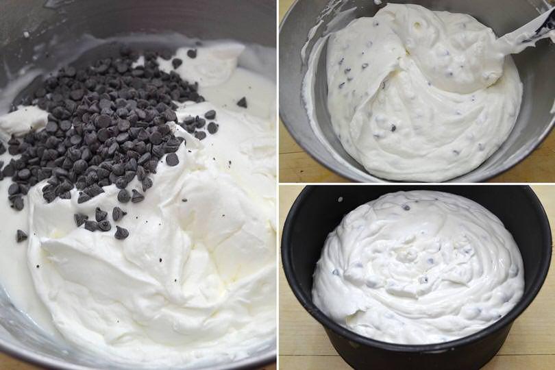 6 aggiungere gocce cioccolato