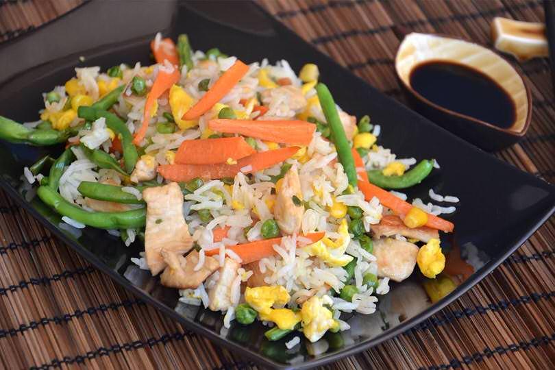 Riso fritto cinese ricetta riso fritto cinese di misya for Ricette cinesi