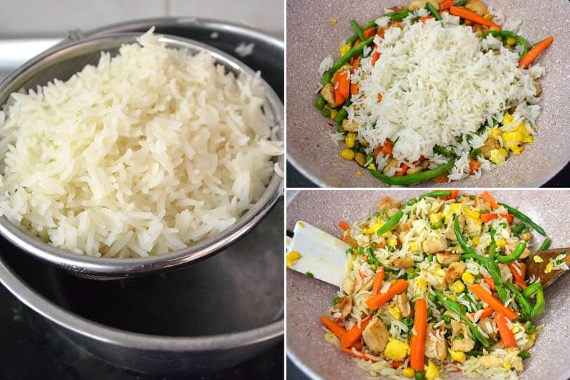 riso nella padella