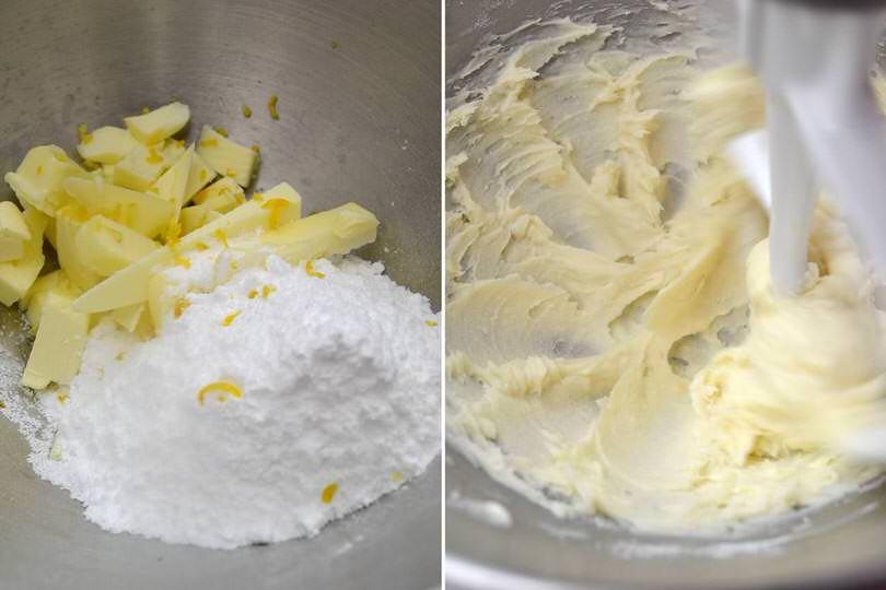 1 burro e zucchero