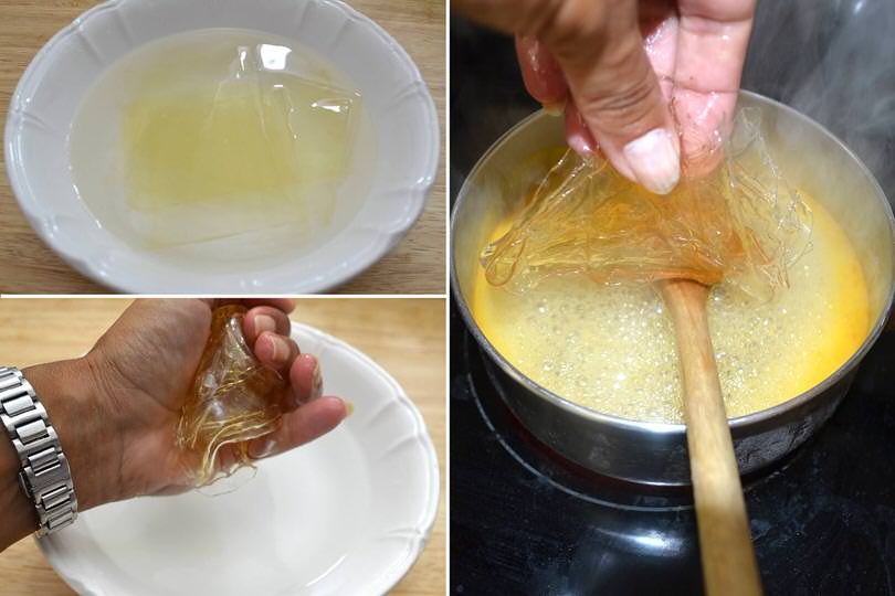 2 aggiungere gelatina strizzata